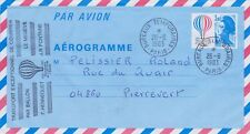 FRANCE FDC - 1983 Aérogramme N° AER 1010 - Bicentenaire de l'air et de l'espace