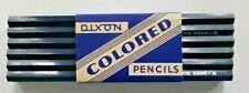 Vintage Dixon Blue Colo 2200 B Pencils  Soft Lead NOS