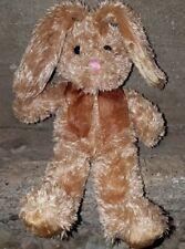 "Galerie Au Chocolat Rabbit 2009 Stuffed 8"" Bean Bag Plush Bow"