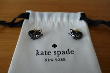 KATE SPADE MA CHERIE ANTOINE FRENCH BULLDOG OPEN HINGED CUFF AND EARRINGS