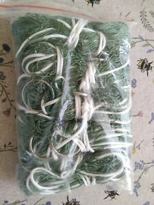 Pack of 10 Bisley Nylon Purse Ferret Nets for Rabbiting. Strong.