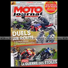 MOTO JOURNAL N°2045 HONDA CBR 600 RR CB 500 F NC 700 S KAWASAKI ZX-6R 636 2013