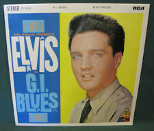 Elvis Presley SF-5078 GI Blues LP UK Orange 1969