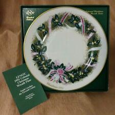 Lenox 1991 Colonial Christmas Wreath Collectors Plate South Carolina 11th Colony