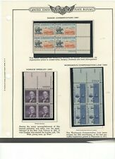 US stamps plate blocks  1961