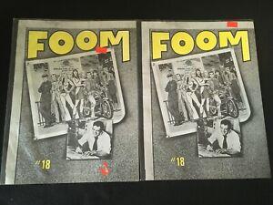 FOOM #18 Two Copies G- Condition