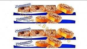2 Entenmann's Crumb Topped Donuts, 8 count