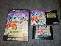 Dr Robotnik's Mean Bean Machine Sega Mega Drive Game Complete Boxed with Manual