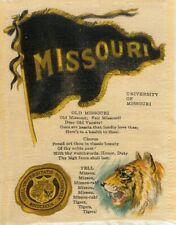 Missouri College University Tobacco silk Richmond Straight S23