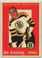 1959-60 Topps Hockey #39 Bob Armstrong VG-EX Condition (2020-13)