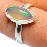 Ethiopian Opal 925 Sterling Silver Ring Size 9 Ana Co Jewelry R37100F