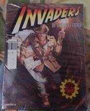 Invaders of the Lost Tomb UXB/Spinnaker Commodore 64 NOS Disk, Manual & Box L@@K
