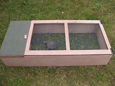Tortoise outdoor wooden house & run shelter fully assembled or any small animal