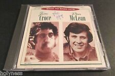 JIM CROCE & DON MCLEAN / BACK TO BACK HITS / CD