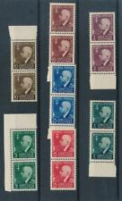 [37851] Albania 1942 Good set pairs Very Fine MNH stamps