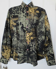 True Love False Idols Men's Long Sleeve Shirt Size XL EUC