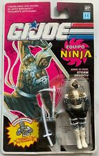 GI Joe Vintage 1992 Hasbro Ninja Force Storm Shadow 3.75 Action Figure damaged