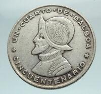 Coins 1970 Panama 5 Balboas Silver Proof 1oz Central American & Caribbean Games Coins