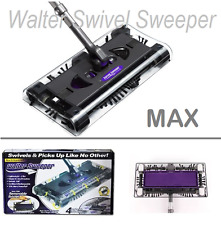 New in box Walter Swivel Sweeper Latest Cordless Max Quad Brush