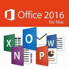 Microsoft Office 2016 For Mac - Home & Business -3 MAC USERS - Rapid Delivery!