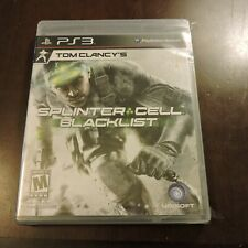 Tom Clancy's Splinter Cell Blacklist Sony PlayStation 3 PS3 New Sealed Game