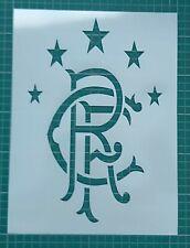 Football Club Stencil Wall Art 8 Inch x 10 Inch 190 Micron