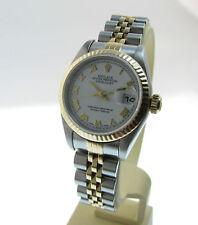 Rolex DATEJUST OYSTER tratterà cronometri-inox/18k. ORO-Lady modello