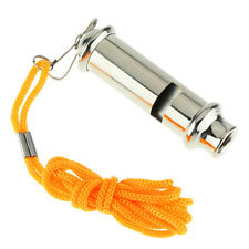 Arrival With Lanyard Emergency Metal Whistle Portable Security Warning Whistle