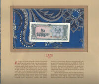 Most Treasured Banknotes Laos 1979 1 Kip P 25a UNC Prefix AH