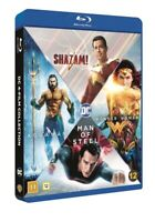 DC Comics 4 Film Collection Blu Ray