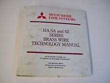 Mitsubishi Edm Systems Series Ha,Sa And Sz Brass Wire Technology - Free Shipping