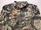 Russell Outdoors Explorer Mossy Oak Men's XXL Camo Button Down Long Sleeve Shirt