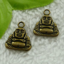 free ship 128 pieces bronze plated the Buddha charms 20x16mm #3082