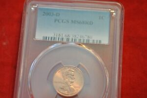 2003D Lincoln Cent MS68RD
