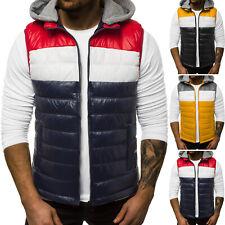 Chaleco ACOLCHADO bodywarmer chaqueta transición deporte sin mangas señores ozonee n/6105