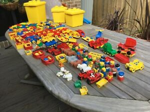 LEGO DUPLO - large lot of used vintage pieces