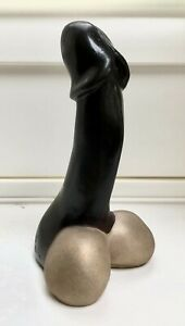 SOLID BRONZE PENIS PHALLUS CAST AT OUR UK FOUNDRY LIMITED EDITION SIGNED ARTIST