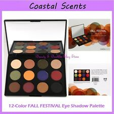 NEW Coastal Scents 12-Color FALL FESTIVAL Eye Shadow Palette FREE SHIPPING BNIB