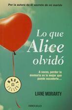 Lo Que Alice Olvido (What Alice Forgot) (Paperback or Softback)
