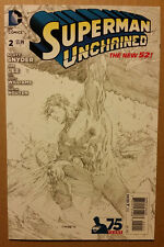 Superman Unchained #2 Jim Lee 1:300 sketch variant VF/NM
