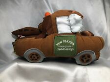 "Disney Store Exclusive Pixar Cars 9"" Plush Tow Mater Truck Brown Stuffed Toy"