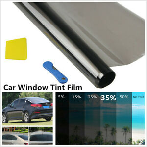 50cm 35% Car Window Tint Solar Film SUV Explosion Proof Heat Insulation Membrane