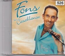 Fons-Viva Casablanca promo cd single
