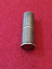 """830 S Silver Danish AXel Holm LIpstick 2"""" Rare"""