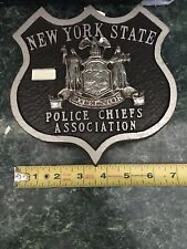 NYPD Bumper Shield Plaque