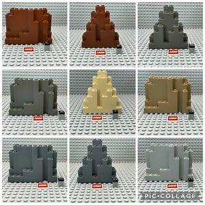 LEGO® Felsen Berg Ritter 6082 6083 Burg alt dunkelgrau reddish beige