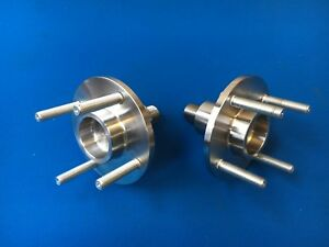 Cosworth WRC - Group A Billet Steel 2wd Front Wheel Flanges (pair)