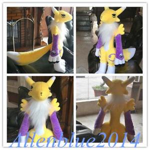 """Giant Handmade Digital Monster Digimon Tamers Renamon Soft Plush Doll Toy 20"""""""