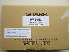 Sharp JW-64NC PLC DC Input Module NEW!!! in Factory Box Free Shipping