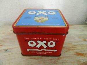 Oxo Tin- 75 Years of Oxo Diamond Jubilee-Vintage-1985-British Food Advertising